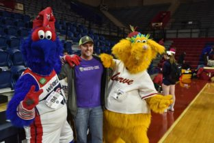 Mascot Spirit At The Palestra