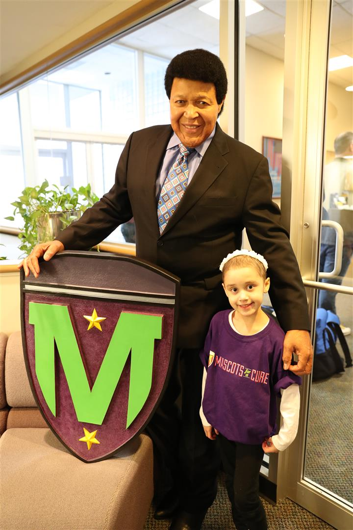 Layla With Chubby Checker – MFAC Shield